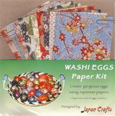 Washi eggs paper kit