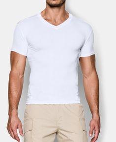 f7e216059c2 Best Seller Men s Tactical HeatGear® Compression V-Neck T-Shirt 2 Colors   24.99
