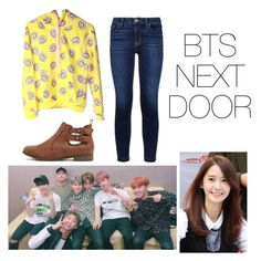 """""""Shin's casual wear"""" by pantsulord on Polyvore featuring Hudson"""
