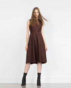 Image 1 of DRESS WITH FULL SKIRT from Zara