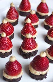 Beyond the Bite: Paleo Santa Hat Brownie Bites (AIP Friendly)