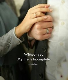 Allah hm dono ko kbhi alag na kre aameen. Love Marriage Quotes, Muslim Couple Quotes, Muslim Love Quotes, Couples Quotes Love, Love In Islam, Love Husband Quotes, Islamic Love Quotes, Wife Quotes, Love My Husband