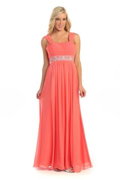 A Line/Princess Sweetheart Neckline Floor Length Bride Maid Evening Long Prom Dress With Ruffle Sequins