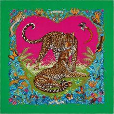 La Maison des Carrés Hermès | Jungle Love