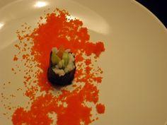 Comer con los ojos. Tataki de ventresca de atún con su salsita