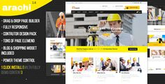 Arachi - Construction, Corporate Business WP Themes by uxtheme Arachi ¨C Construction, Corporate Business WP Themes Corporate, Business, Bloging, Shopping Design Fully Responsive Design Tons of