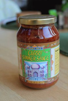trader joe's curry simmer sauce - Google Search