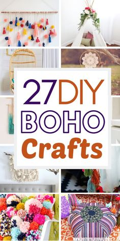 boho room diy Add tons of Boho flair to your home with this stunning collection of dollar store Boho craft ideas. These gorgeous boho decor ideas are easy to make, wont break the bank and will add a touch of gypsy and hippie style to any room. Boho Decor Diy, Boho Diy, Diy Crafts To Sell, Diy Crafts For Kids, Fun Crafts, Adult Crafts, Cute Diy Crafts For Your Room, Craft Ideas For The Home, Diy Crafts For Bedroom