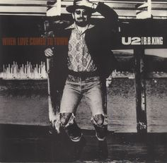 """For Sale - U2 When Love Comes To Town USA Promo  7"""" vinyl single (7 inch record) - See this and 250,000 other rare & vintage vinyl records, singles, LPs & CDs at http://eil.com"""
