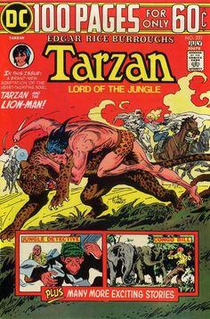 Héroes del cómic blog de Dave: Tarzán DC 100 Buscapersonas