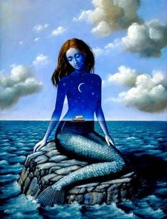 "Olbinski describes his approach to painting and illustrating as ""poetic surrealism"". Description from pinterest.com. I searched for this on bing.com/images"