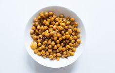 Spicy Garlic Chickpeas Recipe