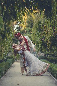 Indian wedding photography. Couple photoshoot ideas. Candid photography.