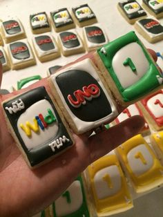 UNO cookies | Lydia Carter LC Sweets