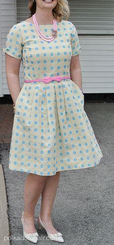 Polka Dot Dress from New Look pattern 6223