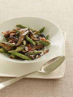 Portabella's and Asparagus