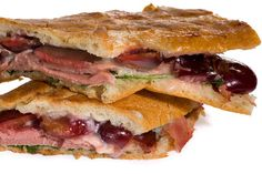Smoked Duck and Cherry Pressed Sandwich Recipe - CHOW