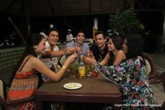 Cheers! For having a wonderful time at Eagle Point Resort!