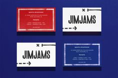 JimJams on Behance Communication Styles, Sports Personality, Graphic Design Branding, Packaging Design Inspiration, Logo Inspiration, Creative Industries, Online Portfolio, Name Cards, Business Card Design
