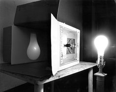 Abelardo Morell, Camera Obscura, Light Bulb, 1991