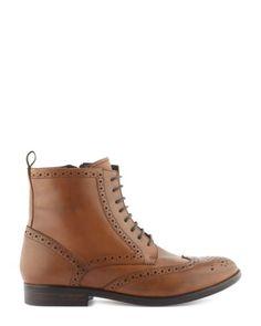 Boots - Lacet - Boots - Chaussures Femme Automne Hiver