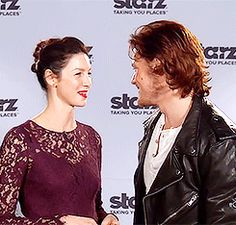 CanHardyHeughanWait • outlander-starz:   Totally witnessed the chemistry...