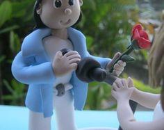Topo de bolo do Roberto Carlos