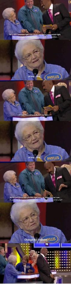 Phyllis on Family Feud