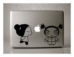 pucca Macbook Decal Pucca and Garu Laptop Decal Removable by Decalwishes