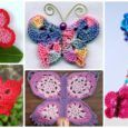 18 DIY Crochet Butterfly Free Patterns Instruction Collection