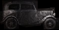 take me up, 167x347cm,  frottage(rubbing) black lead on paper,2015