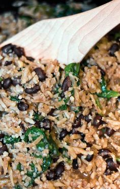 """Double CLICK PIC for Recipe....  ...DIRTY CAULIFLOWER """"RICE""""  AND BLACK SOY BEANS...  ...Recipe by George Stella... ...For tons more Low Carb recipes visit us at """"Low Carbing Among Friends"""" on Facebook"""