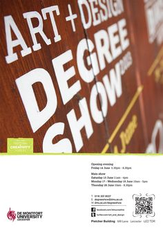DMU Art + Design Degree Show 2013