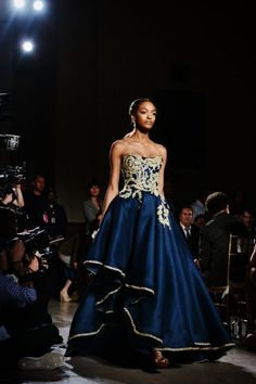 Marchesa Goes Far-East Chic With Opulent Beauty Looks. Gorgeous.