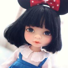 Custom Mulan doll with Minnie Mouse Ears   jihm89
