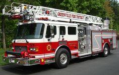 American Lafrance Fire Truck 15