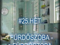 #25.HÉT - FÜRDŐSZOBA - A fürdőszoba rendszerezése - Háztartásbeli kihívások Sweet Home, Company Logo, Tech Companies, Neon Signs, Blog, House Beautiful, Blogging