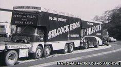 Britain's showmen: All the fun of the fair? - BBC News Vintage Trucks, Old Trucks, Nottingham Goose Fair, Warrington Cheshire, University Of Sheffield, Old Lorries, First Boyfriend, Fun Fair, Classic Motors