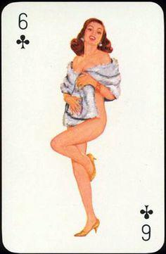 Nombre:Sexy-Girls- Pais: Alemania (Germany). Fabricante: F.X.Schmid.- Fecha: 1.964 BARAJA ORIGINAL