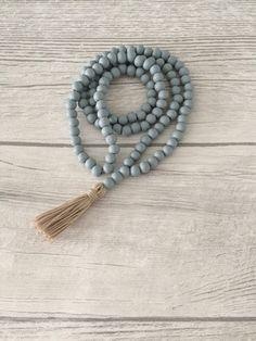 Charm- & Bettelketten - Kette - Holzperlen - Quaste - ein Designerstück von Alsterklunker bei DaWanda