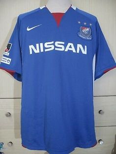 c101e7f6e YOKOHAMA F MARINOS J LEAGUE 2008 JAPAN FOOTBALL SOCCER JERSEY SHIRT XXL 90s  VTG