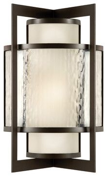 Singapore Moderne Outdoor Outdoor Wall Sconce, 818181ST - modern - outdoor lighting - Masins Furniture