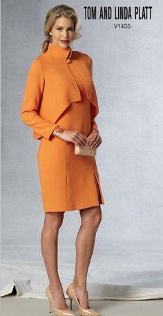 Vogue Patterns #1435 - Spring 2015 Lookbook #ClippedOnIssuu