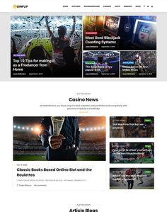 Coinflip - Casino Affiliate WordPress Theme - ModelTheme Roulette Game, Bingo Games, Cheer You Up, Casino Games, Classic Books, Book Making, Slot Machine, Cool Websites, Wordpress Theme