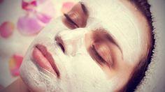 Αντιγηραντική μάσκα προσώπου με αλεύρι
