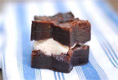 Sea Salt Brownie & Chai Ice Cream Sandwiches Recipe