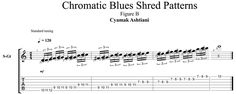 Exotic Techniques: Chromatic Blues Shred Pattern Lesson | Guitar World
