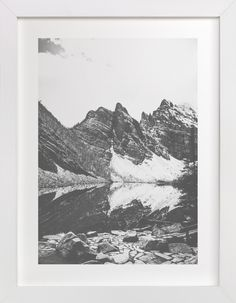 """Lake Agnes Film"" - Art Print by Korry Brown in beautiful frame options and a variety of sizes. 