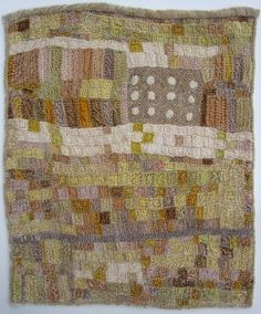 JUDY MARTIN Time Passes Over The Earth 2015 silk rayon velvet, plant dyes, bamboo batt, backed with wool gauze, cotton and silk threads hand pieced and hand quilted h x How To Dye Fabric, Fabric Art, Textiles, Reverse Applique, Quilt Festival, Hand Quilting, Crazy Quilting, Small Quilts, Textile Artists