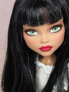 Javi OOAK Monster High Cleo DeNile Custom Repaint by Ellen